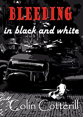 book cover of Bleeding in Black and White