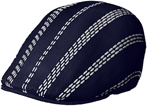 Kangol Men's Float Stripe 507 IVY Cap, Navy/White, M (Hat Stripe Cap)