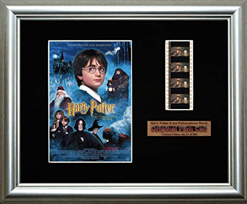 Harry Potter & the Philosophers Stone - Framed filmcell picture - Film Photo Harry Potter