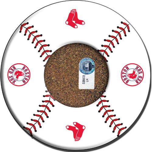 Steiner Sports MLB Boston Red Sox Baseball with Logo Coasters (Set of (Boston Trivet)