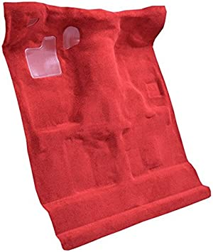827-Grey Plush Cut Pile ACC Replacement Carpet Kit for 1994 to 2004 Chevrolet S10 Standard Cab Pickup Truck