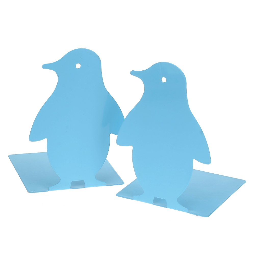 1Pair Luxury The South Pole Penguin bookends bookends Gift Blue