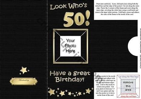 Aggiungere Biglietto Di Auguri Per Il Cinquantesimo Compleanno Con