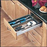 Cutlery/Utensil Organizer - Base 18 - Chrome