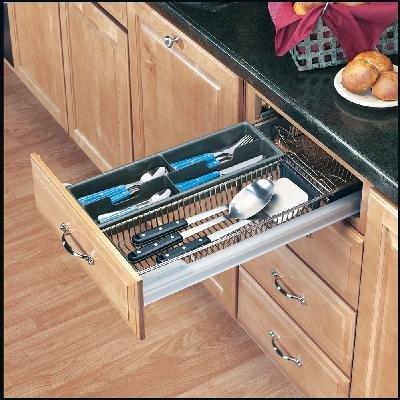 Cutlery/Utensil Organizer - Base 18 - Chrome by Rev-A-Shelf