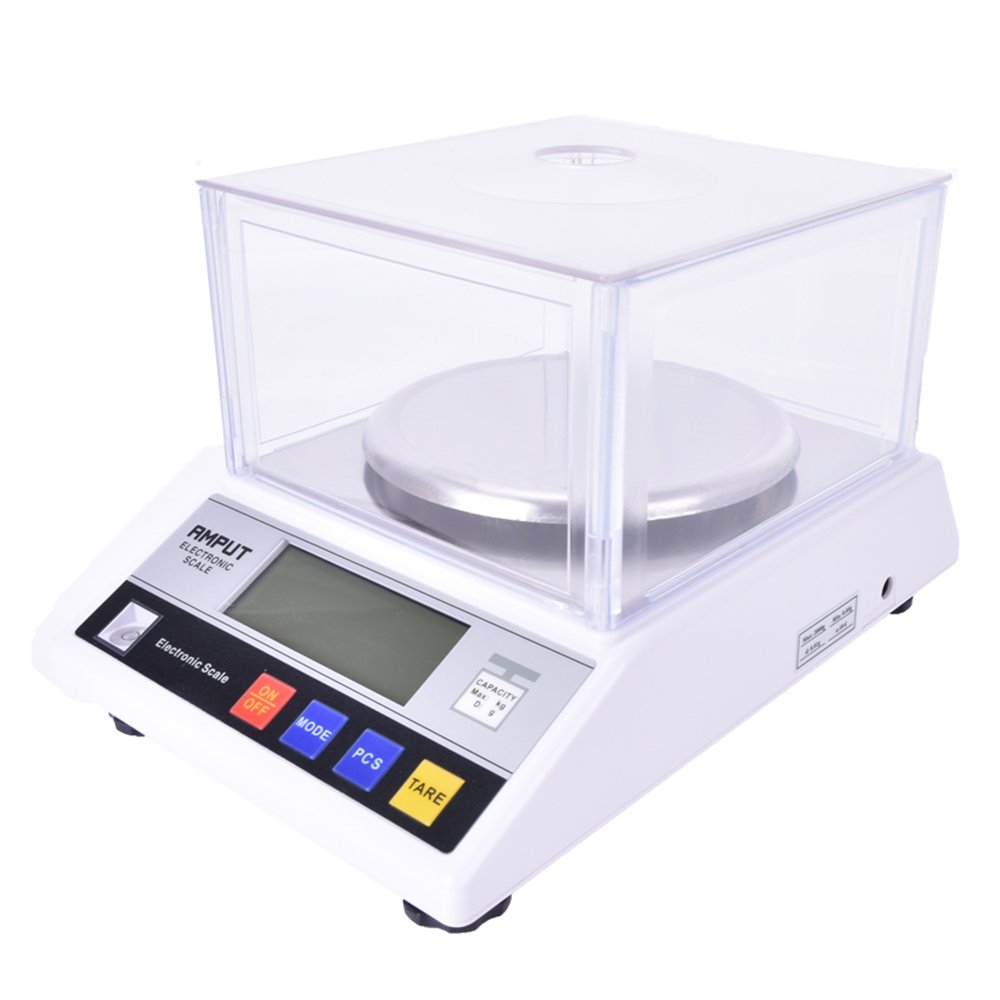 CGOLDENWALL High Precision Digital Analytical Electronic Balance Scale 1000g x 0.01g Laboratory Precision Weighing Balance Scale Lab Scale with Counting Function CE 0.01g