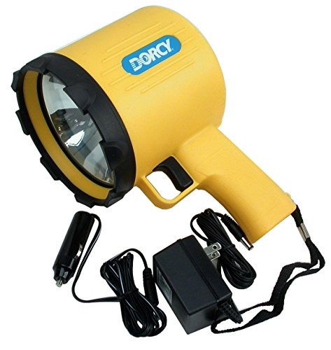 Dorcy 41-1097 1 Million Candle Power Rechargeable Spotlight