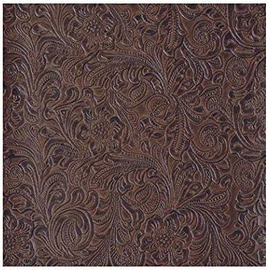 "54/"" Wide Vinyl Upholstery Embossed Texture Fabric RIBBON SEKIZ Fake Leather"