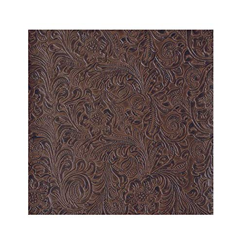 Buy tooled leather vinyl fabric