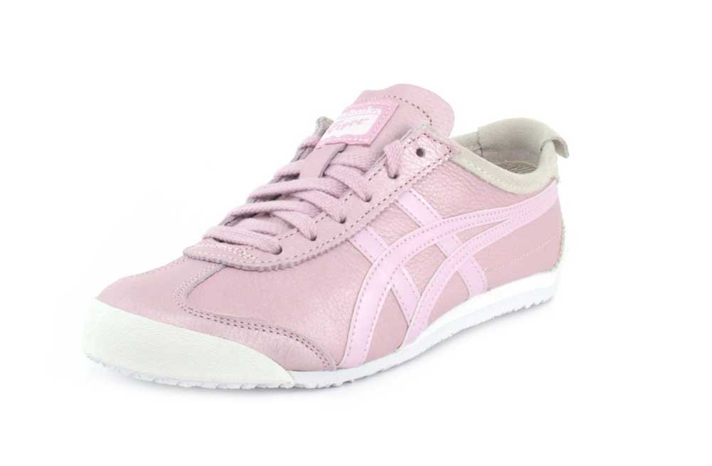low priced 07a56 a6b88 Onitsuka Tiger Womens Mexico 66 Rose Water/Rose Water Sneaker - 8.5