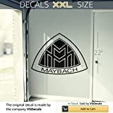 Vinyl Decal Mural Sticker Garage Maybach Emblem Logo 07 FRST