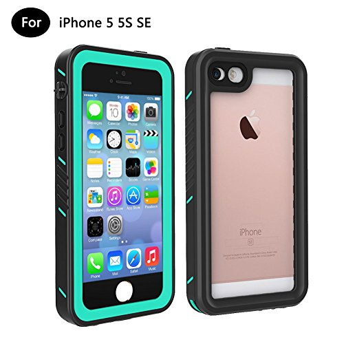 Waterproof Shockproof Dirt Proof Cover for iPhone SE/5S/5 (Black) - 3