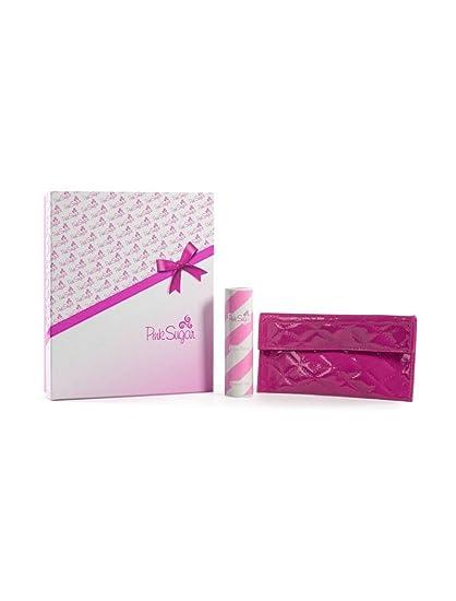 Set de regalo rosa azúcar pour femme Mujer: Eau de Toilette 30 ml + Pochette – fucsia