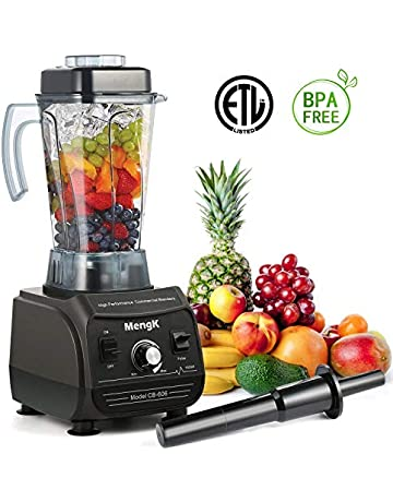 MENGK rofessional Blender 1500W Peak Horsepower High Speed Electric Total Nutrition Food Processors with 67oz BPA