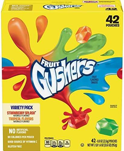 Fruit Snacks: Fruit Gushers