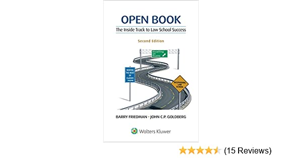 amazon com open book the inside track to law school success