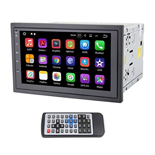 QSICISL Android 7.1 Quad Core WiFi 16GB 7 inch Digital Touch Screen in Dash Stereo 2 DIN Universal Car DVD Radio Player for Nissan SENTRA TIIDA Qashqai Sunny X-Trail Pathfinder LIVINA Murano NAVARA