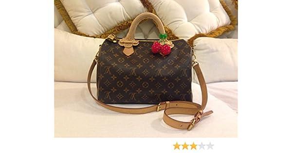 f364f51af38e Amazon.com  Crochet Handle Cover for LV SPEEDY size30