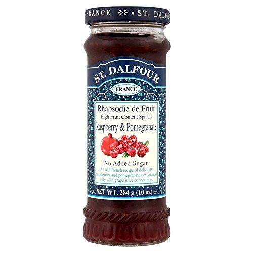 St. Dalfour Rhapsodie de Fruit Raspberry & Pomegranate Jam No Added Sugar (St Dalfour Raspberry Fruit)