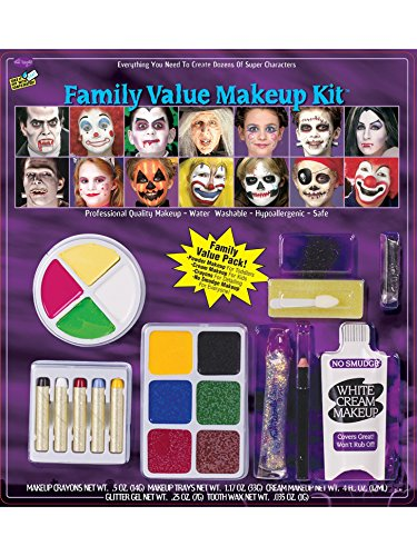 [Morris Costumes Festive Family Makeup Kit] (Horror Makeup Value Kit)