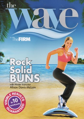 Gaiam The WAVE (by The FIRM) - Rock Solid Buns [DVD] [2008]