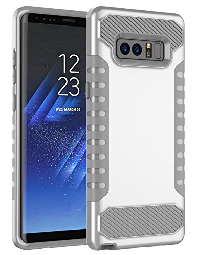 Shockproof Hybrid TPU Case for Samsung Galaxy Grand Prime (Black/Silver) - 6