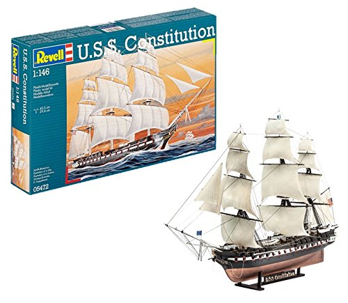 Revell Germany U.S.S. Constitution Kit (Model Adults Ship For Kits)