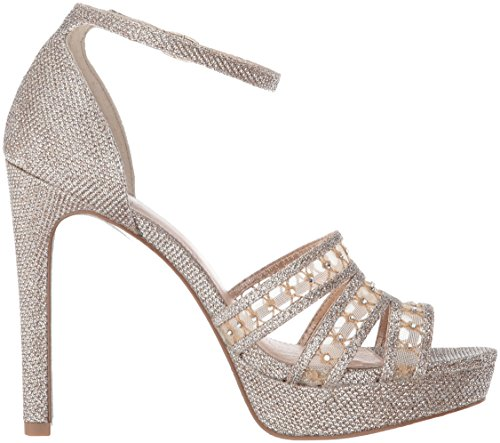 Platino Sandal Morgan Papell Dress Platform Adrianna Women XO7xwWY