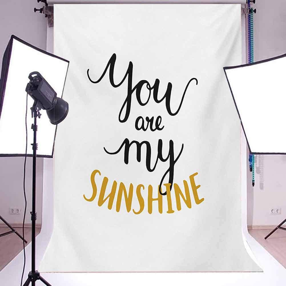 Quote 10x15 FT Photography Backdrop Big Font Classical Romantic Partners Phrase Soul Mates Theme Calligraphy Image Background for Baby Birthday Party Wedding Vinyl Studio Props Photography