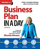 Business Plan in a Day, Rhonda Abrams, 1933895373