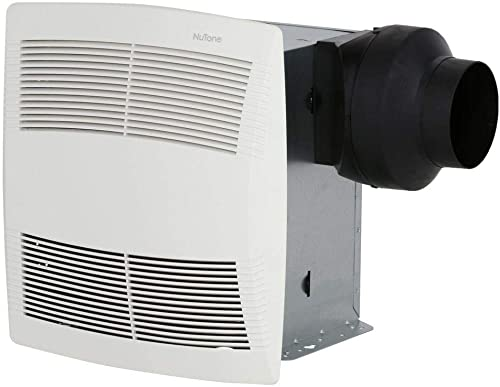 NuTone Premier Ultra Silent Ceiling Exhaust Bath Fan, Sound Level 1.5 SONES, 130 CFM Air Movement Energy Star