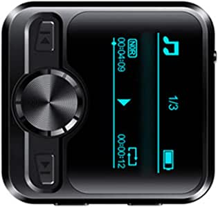 Joick VoiceRecorderBluetoothSportHiFiMP3PlayerSound RecordingPenIPX6FMRadioRepeater1.2inchDisplay,16GB
