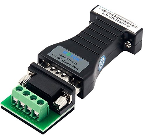 (UTEK UT-204E Port-powered RS-232 to RS-485 Converter Adapter Adaptor 600w Surging Protetion)
