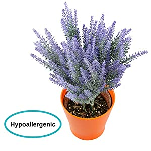 Houseables Artificial Lavender Flower, Purple 4