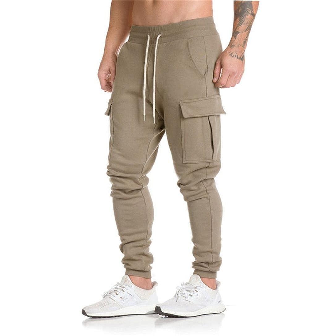 Amazon.com: Hombres pantalones Slim Fit, lelili Durable ...