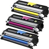 コニカミノルタ magicolor 1600シリーズ カラー3色セット 大容量トナーカートリッジ リサイクルトナー KONICA-MINOLTA カラーレーザープリンター複合機用