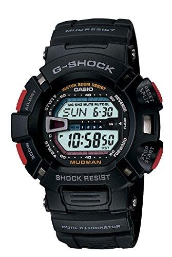 G-Shock G-9000-1VCR Reloj Digital para Hombre, Negro