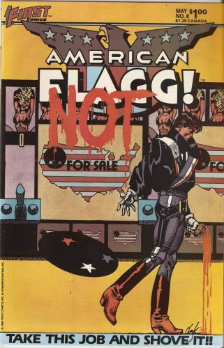 American Flagg! #8 May 1984 pdf epub