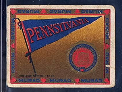 Amazon com: University of Pennsylvania - 1910 College Sports Series