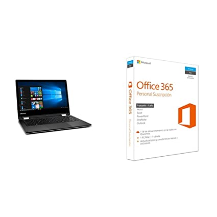 "Medion MD 60686 - Ordenador portátil convertible de 11.6"" HD (Intel Atom x5-"