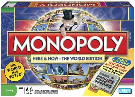 Monopoly Here and Now : The World Edition: Amazon.es: Juguetes y juegos