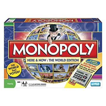 Monopoly: here and now – the world edition | board game.