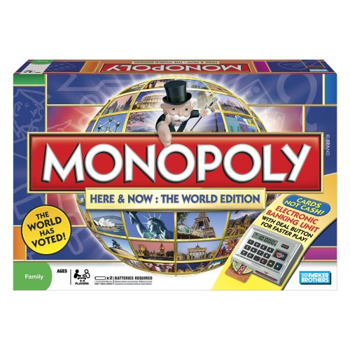 Hasbro Monopoly Here and Now World