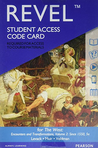 West:Encounters+Trans.,V.2 Revel Access