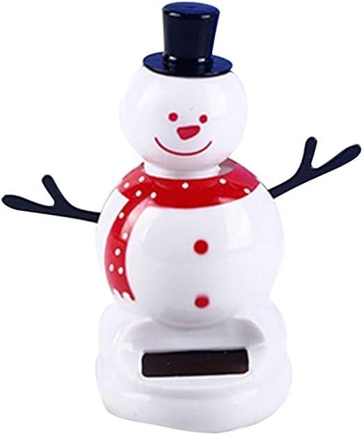Presents Solar Dancing Holiday Snowman; Solar Powered; No Batteries; Dashboard