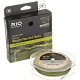 Rio Fly Fishing Fly Line InTouch Single Hand Spay 6 Fishing Line, Peach-Camo Review