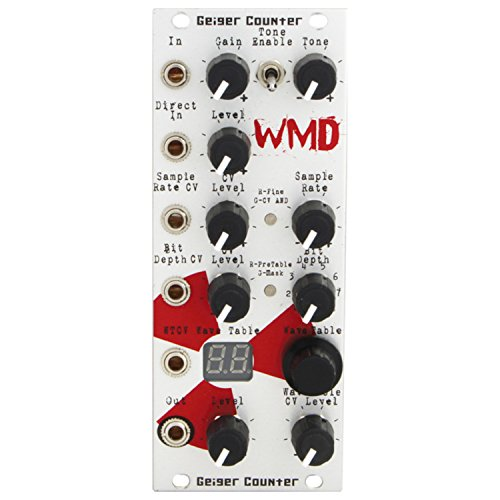 (WMD Geiger Counter Eurorack Digital Destruction Synth Module)