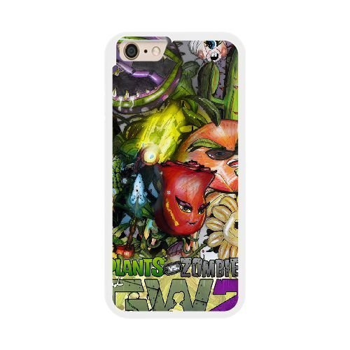 The best gift for Halloween and ChristmasiPhone 6 plus 5.5 inch Cell Phone Case White plants vs zombies garden warfare 2 RPR4980561 -