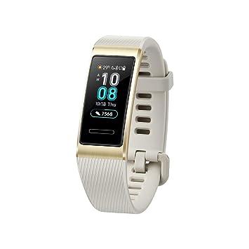 HUAWEI Band 3 Pro Doré - Bracelet Connecté (GPS, Ecran tactile, Rythme cardiaque