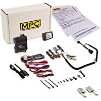 Prewired Remote Start Kit for Jeep Wrangler 2007-2018 - with T-Harness - Plug & Play - 2 (5) Button remotes